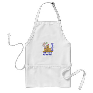 King Of The Castle Adult Apron