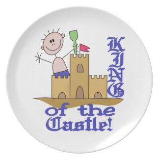 King Of The Castle Dinner Plate