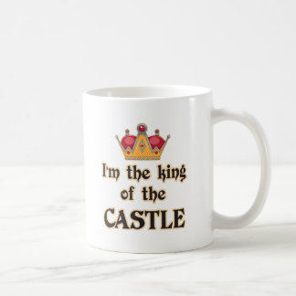 King of the Castle Classic White Coffee Mug