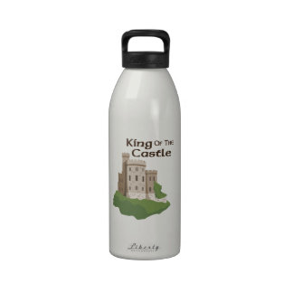 King OF THE Castle Reusable Water Bottles