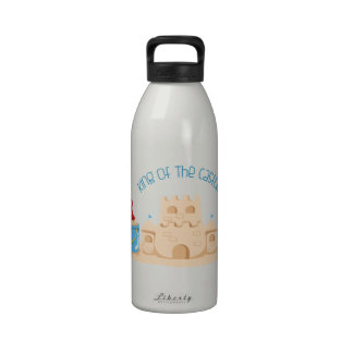 King Of The Castle Water Bottles