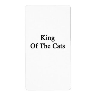 King Of The Cats Label
