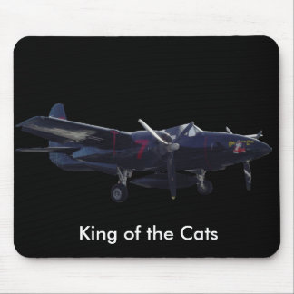 King of the Cats Mouse Pad