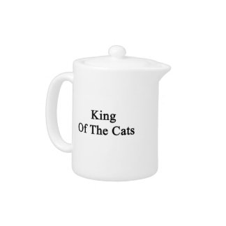 King Of The Cats Teapot
