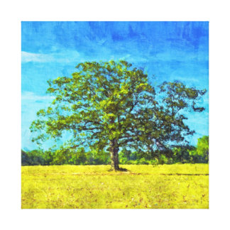 King of the Cornfield Painting Canvas Print