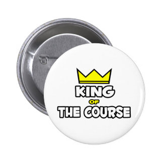 King of the Course 2 Inch Round Button