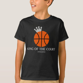 King of The Court Basketball T-Shirt