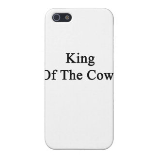 King Of The Cows iPhone SE/5/5s Case