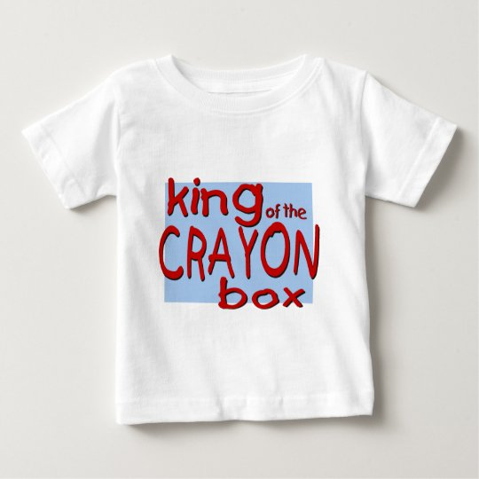 King of the Crayon Box Baby T-Shirt