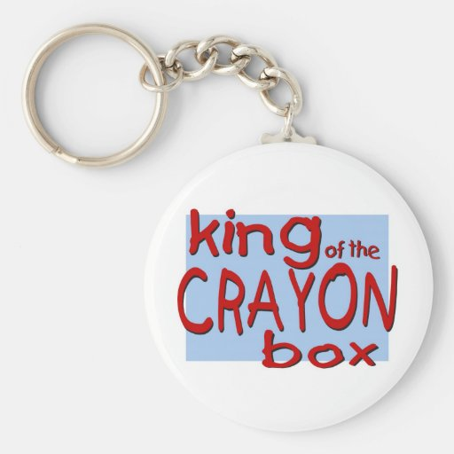 King of the Crayon Box Keychain