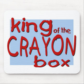 King of the Crayon Box Mouse Pad