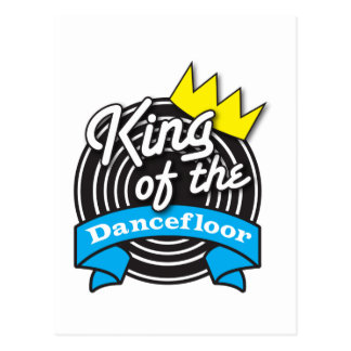 King of the Dancefloor Postcard