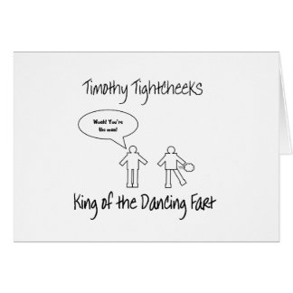 King of the Dancing Fart Greeting Cards