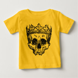King Of The Dead, Skull and Crown Baby T-Shirt