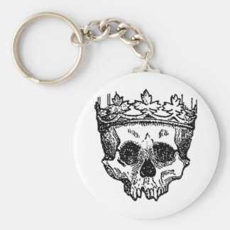 King Of The Dead, Skull and Crown Keychain