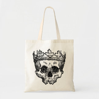 King Of The Dead, Skull and Crown Tote Bag