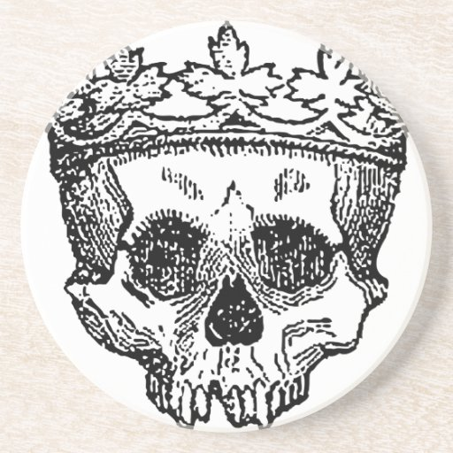 King of the Dead Skull Coasters