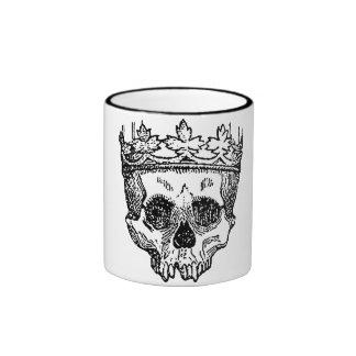 King of the Dead Skull Mug