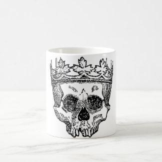 King of the Dead Skull Coffee Mug