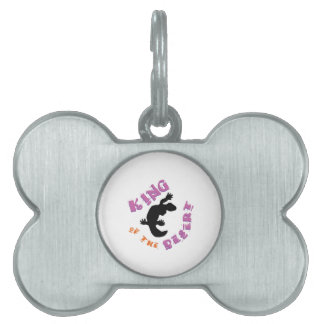 King of the Desert Pet ID Tag