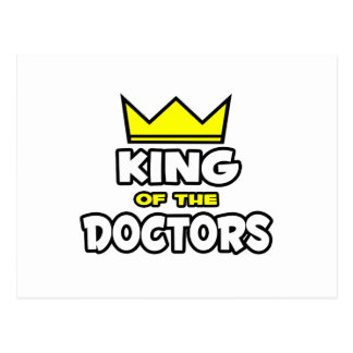 King of the Doctors Postcard