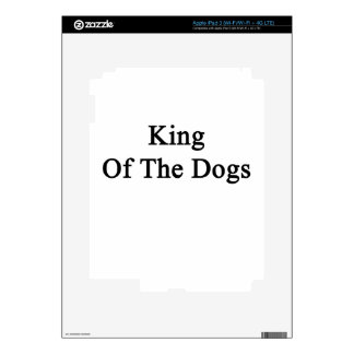 King Of The Dogs iPad 3 Decal