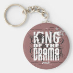 King of the Drama Key Chain