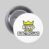 King of the Electricians Button