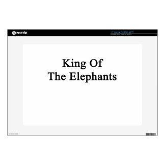 """King Of The Elephants Decals For 15"""" Laptops"""