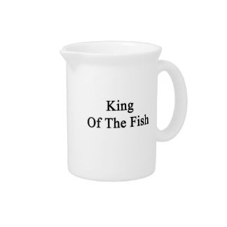 King Of The Fish Drink Pitcher