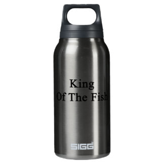 King Of The Fish Insulated Water Bottle