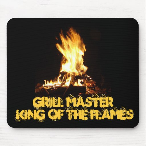 King of the Flames Mouse Pad