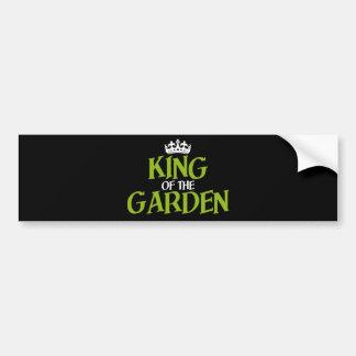 King of the Garden Bumper Sticker