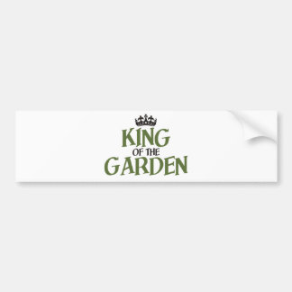 King of the Garden Bumper Stickers