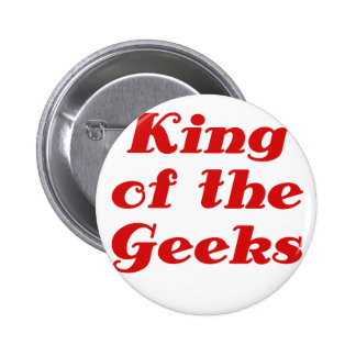 King of the Geeks 2 Inch Round Button