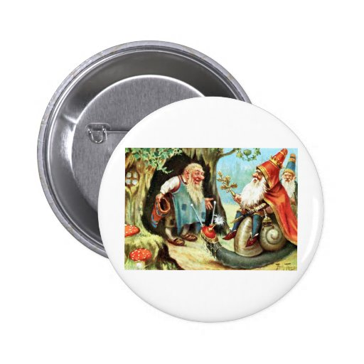 King of the Gnomes Buttons