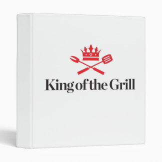 King of the Grill 3 Ring Binder