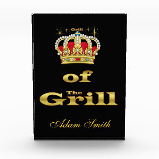 King Of the Grill Acrylic Award
