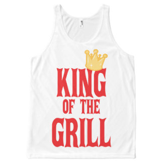 King Of The Grill All-Over-Print Tank Top