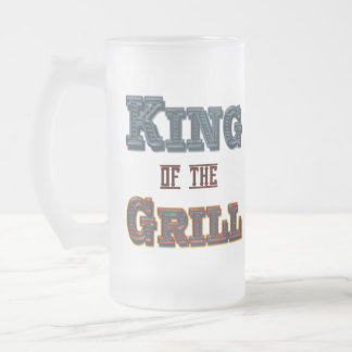 King of the Grill BBQ Cooking Saying Mug