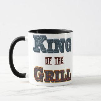 King of the Grill BBQ Cooking Slogan Mug