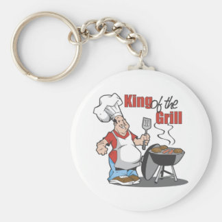 King Of The Grill BBQ Gift Key Chain