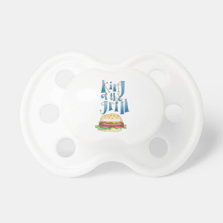 King Of The Grill Burger BooginHead Pacifier