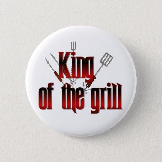 King of the grill button