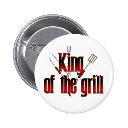 King of the grill buttons