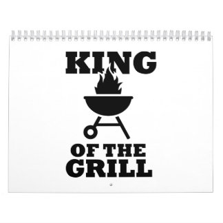 King of the grill calendar