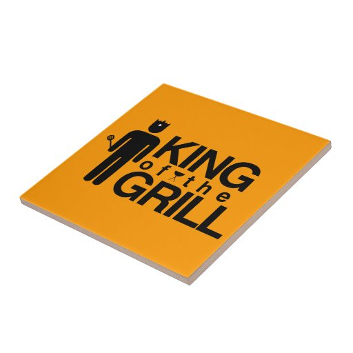 King of the Grill Ceramic Tiles