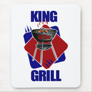 King of the Grill Cookout Mouse Pad