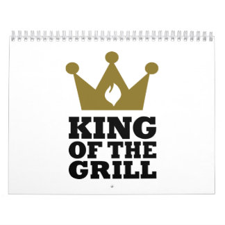 King of the grill crown calendar