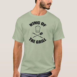 King Of The Grill Father's Day T-Shirt